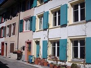 Waldenburg, Switzerland - Houses in Waldenburg