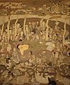 Wall Hanging Depicting the Death of the Buddha (Paranirvana) LACMA M.81.223.jpg