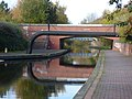 Walsall Canal - Wednesbury - Willingsworth Hall Bridge (38545655301).jpg