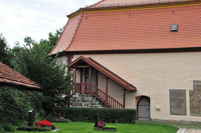 Datei Wandersleben Kirche Aussen Treppenaufgang 1 Jpg Wikipedia