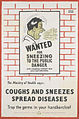 Wanted for Sneezing to the Public Danger - Coughs and Sneezes Spread Diseases Art.IWMPST14138.jpg