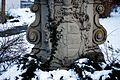 Wappen an der Nepomuk Statue in Ofteringen.JPG