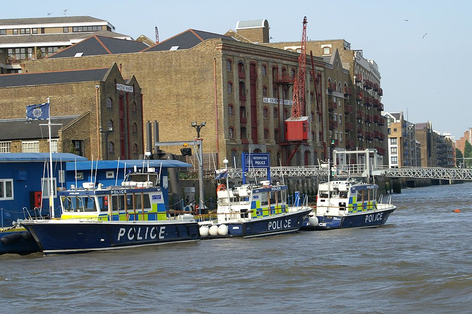 Wapping Met Police marine station