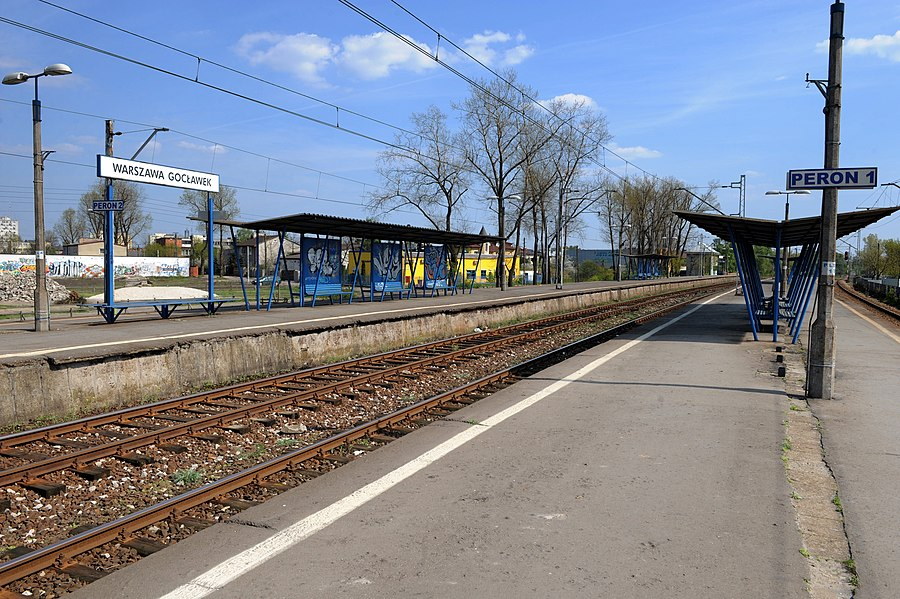 Warszawa Gocławek railway station