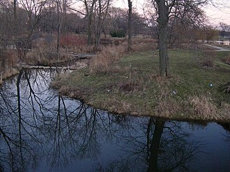 Washington Park (Chicago park) - Lagoon in Washington Park