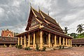 Wat Si Saket in its paved courtyard Vientiane Laos.jpg