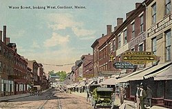 Water Street, Looking West, Gardiner, ME.jpg