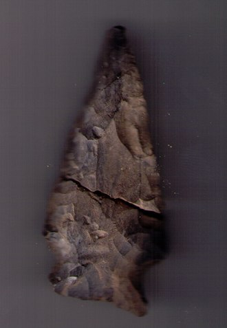 Waterdown, Ontario - Discovered by resident Nicholas Schwetz in 2008 in the Waterdown South Development, this arrowhead reminded residents of the long history of First Nations' habitation in the region.