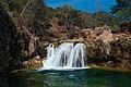 Waterfall Trail at Fossil Creek (24858278823).jpg