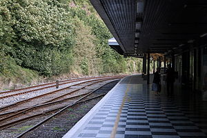 Waterford railway station - Image: Waterford Station 2