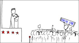 Webcomic xkcd - Wikipedian protester Croatian HR.png