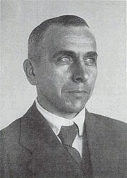 Alfred Wegener, around 1925