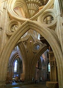Archi contrapposti della cattedrale di Wells