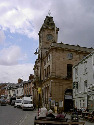 Welshpool - Image: Welshpool Town Hall