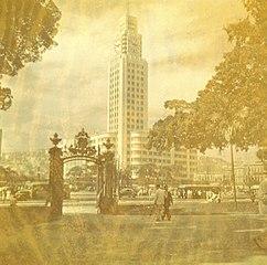 Vista parcial da Estação Dom Pedro II. Rio de Janeiro/RJ