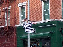 West 12th and West 4th Intersection Sign.JPG