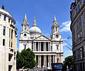 West facade of St Paul's Cathedral 2011.jpg