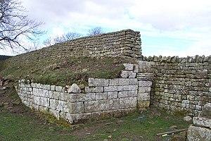 Bremenium - Image: Western gateway to Bremenium Roman Fort geograph.org.uk 378380