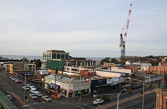 Westfield Geelong - Construction at Westfield Bay City, looking north-east from Market Square.