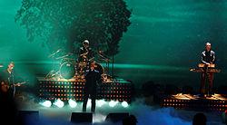 Depeche Mode bei Wetten, dass..? im März 2013.