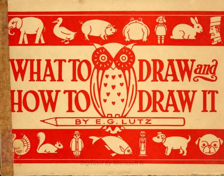page1 765px What to draw and How to draw it by E. G. Lutz.djvu