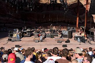 Widespread Panic - Widespread Panic performs their 32nd consecutive sold out show at Red Rocks Amphitheater