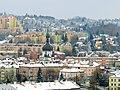 Widok z tarasu wieży Zegarowej w Przemyślu 04 - Zasanie.jpg