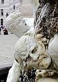 Wien - Brunnen Die Macht zu Lande, Detail.JPG