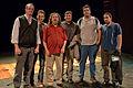 Wikimania 2009 - Richard Stallman en el teatro Alvear con asistentes.jpg