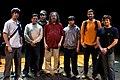 Wikimania 2009 - Richard Stallman en el teatro Alvear con asistentes (21).jpg