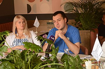 Wikimedia Ukraine Press Breakfast 2.jpg