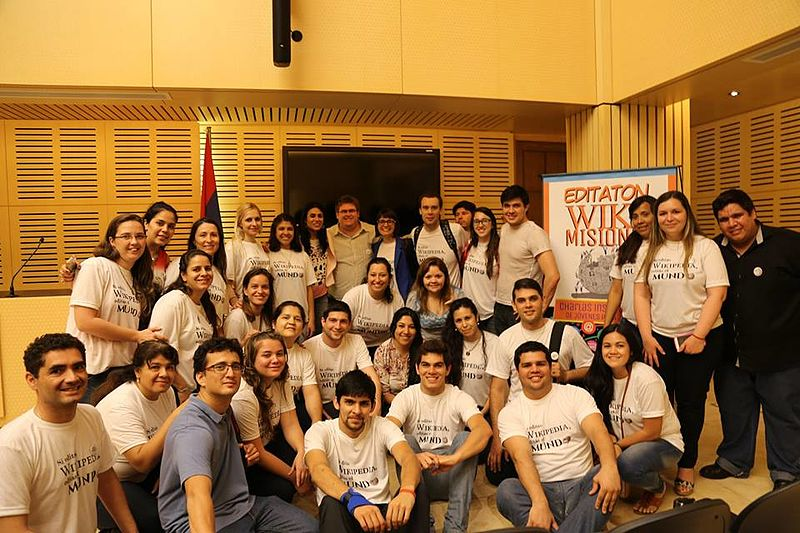 File:Wikimisiones embajadores wikipedistas 2015.jpg