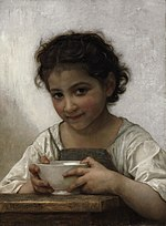William-Adolphe Bouguereau - La soupe au lait (1880).jpg