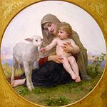 William Adolphe Bouguereau Virgin and Lamb.jpg