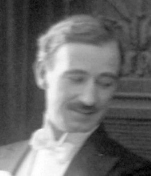 William A. Carroll - William Carroll as Wesley Strange in the film Embers (1916)