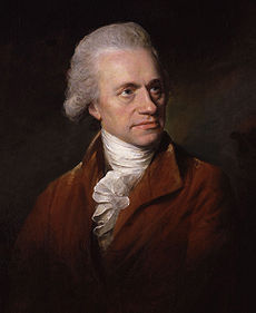 William Herschel, portrét Lemuela Francisa Abbotta z roku 1785
