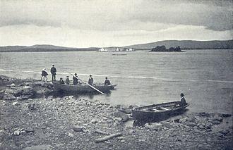 Lough Derg (Ulster) - Pilgrims at Lough Derg
