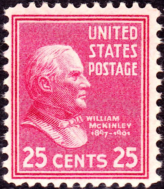 William McKinley 1938 Issue-25c