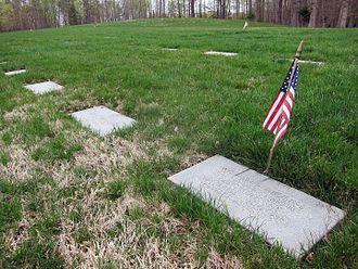 William R. Higgins - William R. Higgins' headstone in Quantico National Cemetery
