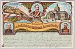 Willy Hoehl Ansichtskarte Zur Erinnerung an den Kaiserbesuch Wilhelm II. in Barmen-Elberfeld. Bildseite.jpg