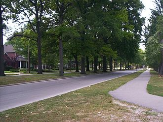 Granite City, Illinois - Image: Wilson Park 27th