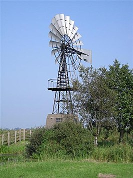 De windmotor in 2007