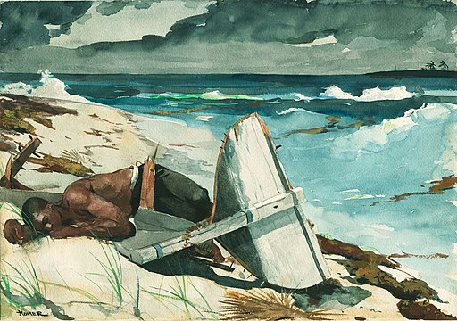 Winslow Homer - After the Hurricane, Bahamas