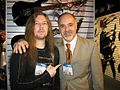 With Matt Masciandaro - the president of ESP Guitars.jpg