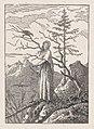 Woman with a Raven (Die Frau mit dem Raben am Abgrund) MET DP872948.jpg