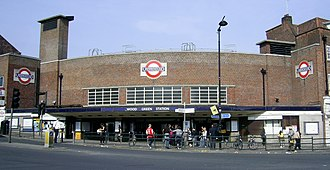 Wood Green tube station - Image: Wood Green tube station 070414