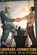 Work and Fight, Italy, WWII propaganda poster.jpg