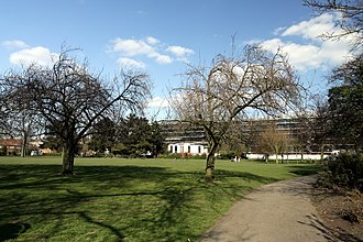 Parks and open spaces in the London Borough of Hammersmith and Fulham - Wormholt Park in spring 2013