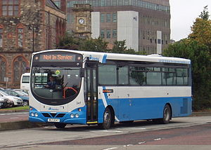 Ulsterbus - A Wright Eclipse SchoolRun bus