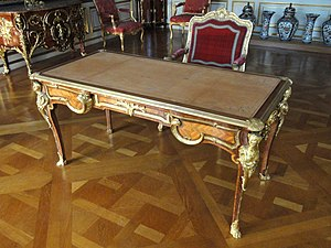 Charles Cressent - Writing desk by Charles Cressent, 1730-1735